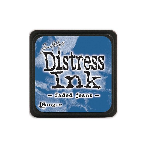 32928 Tim Holtz Distress Mini Ink Pad Faded Jeans.