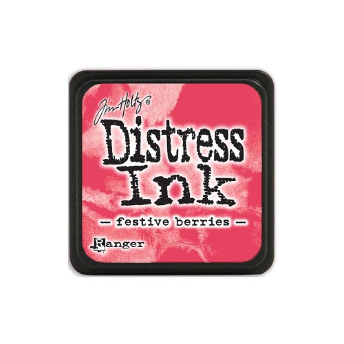 32929 Tim Holtz Distress Mini Ink Pad Festive Berries.