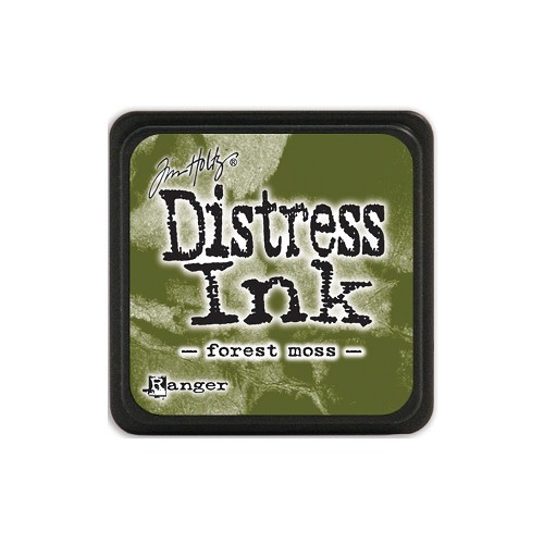 32931 Tim Holtz Distress Mini Ink Pad Forest Moss.