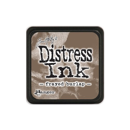 32932 Tim Holtz Distress Mini Ink Pad Frayed Burlap.