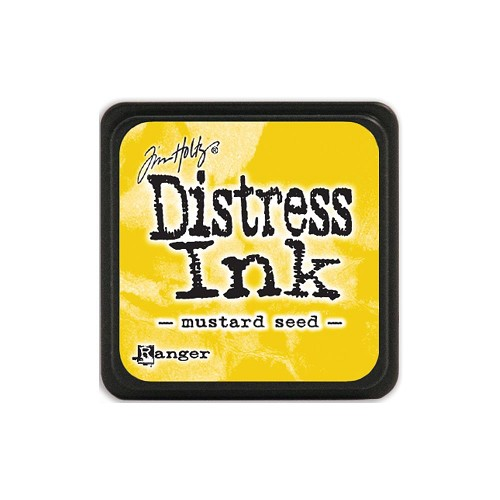 32937 Tim Holtz Distress Mini Ink Pad Mustard Seed.