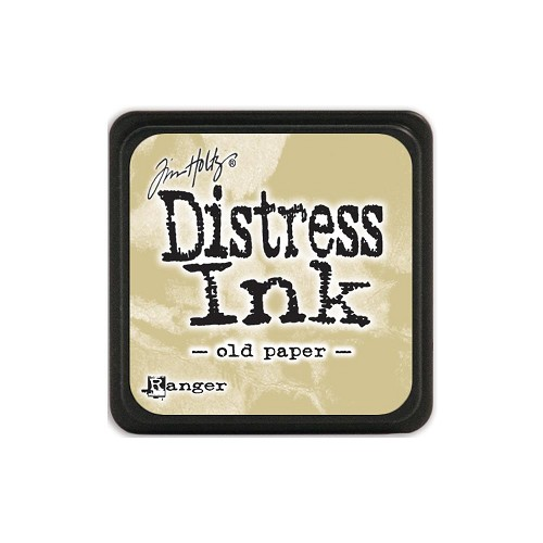 32938 Tim Holtz Distress Mini Ink Pad Old Paper.