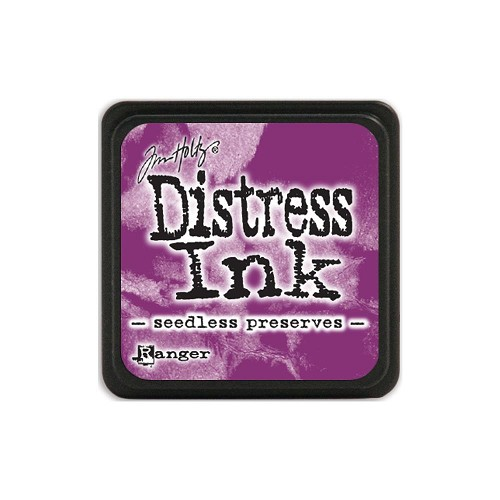 32948 Tim Holtz Distress Mini Ink Pad Seedless Preserves.