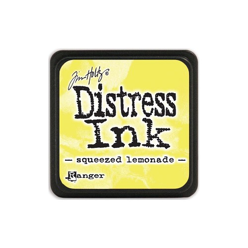 32953 Tim Holtz Distress Mini Ink Pad Squeezed Lemonade.