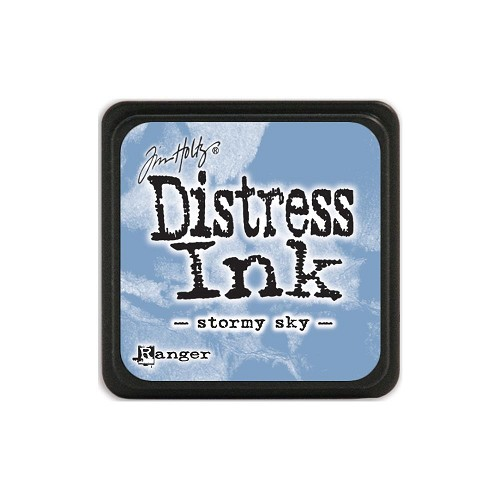 32954 Tim Holtz Distress Mini Ink Pad Stormy Sky.