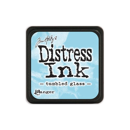 32957 Tim Holtz Distress Mini Ink Pad Tumbled Glass.