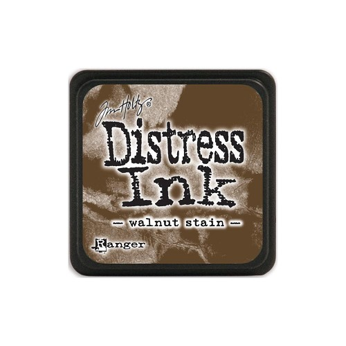 32960 Tim Holtz Distress Mini Ink Pad Walnut Stain.
