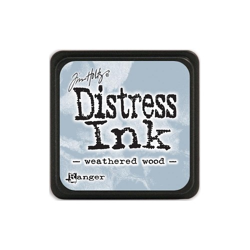 32961 Tim Holtz Distress Mini Ink Pad Weathered Wood.