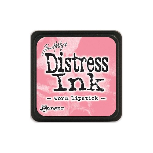 32963 Tim Holtz Distress Mini Ink Pad Worn Lipstick.