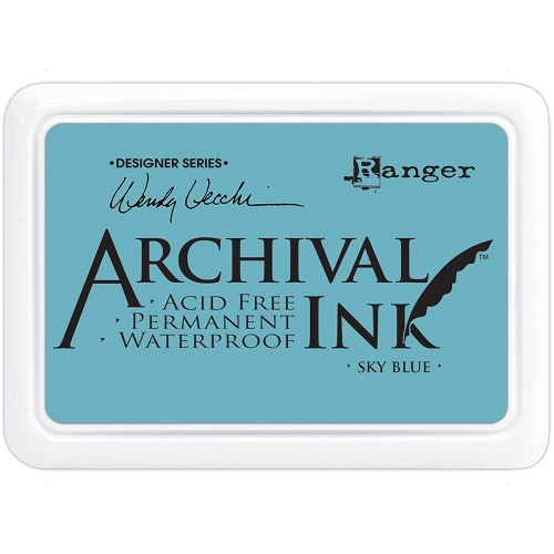 33037 Wendy Vecchi Designer Series Archival Ink Pad Sky Blue.