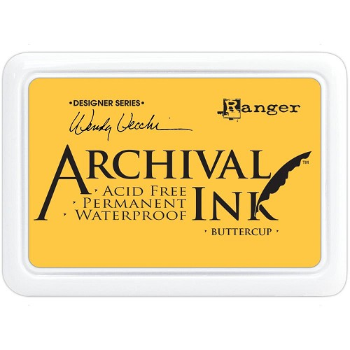 33038 Wendy Vecchi Designer Series Archival Ink Pad Buttercup.