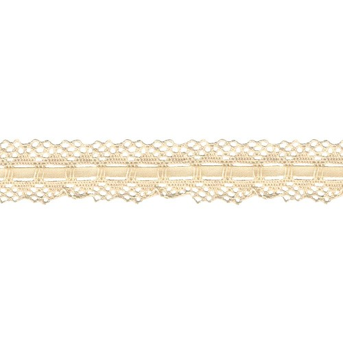33105 Spider Cluny Lace Naturel 3 cm x 1 Meter.