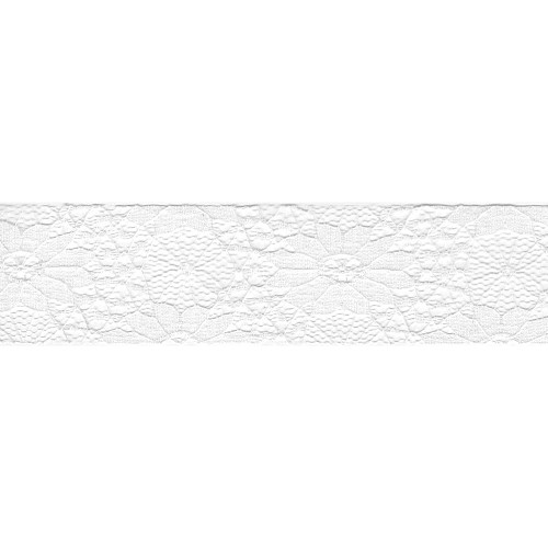 33109 Lace Ribbon Ivory 4cm x 1 Meter.