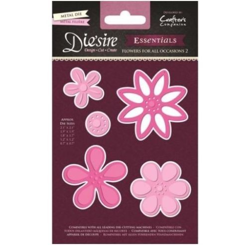 33119 Die`sire Essentials Die - Flowers for All Occasions 2.