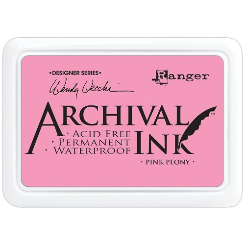 33375 Wendy Vecchi Designer Series Archival Ink Pad Pink Peony.