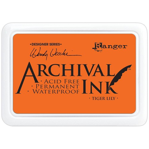 33376 Wendy Vecchi Designer Series Archival Ink Pad Tiger Lily.