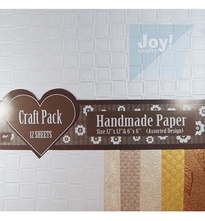 33395 Joy Crafts - Craft Pack - Assorti 12vel assorti / 30.5x30.5 / 15.2x15.2cm (6012/0031).