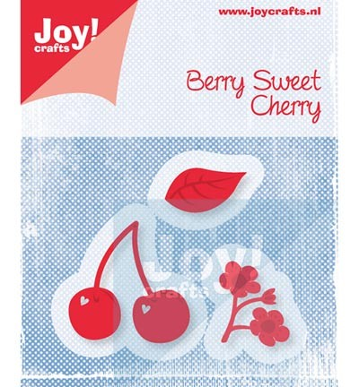 33401 Joy Crafts Cutting & Embossing - Kers met Blaadjes 3pcs / 23x12/35x35 / 20x24 mm (6002/0454).