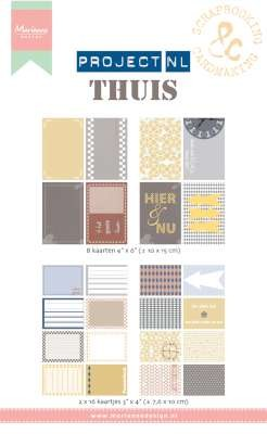 33520 Marianne Design Card Set Project NL - Thuis (PL2501).
