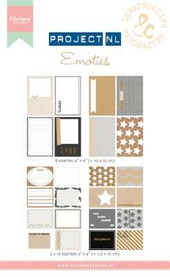 33522 Marianne Design Card Set Project NL - Emoties (PL2503).