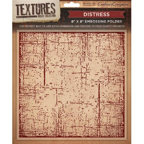 33602 Textures 8x8 (20,5x20,5 cm) Embossing Folder - Distress.