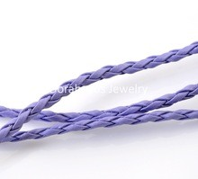 33831 Breading Jewelery Cord Lila 3mm x 2 Meter.
