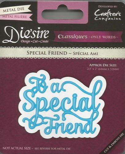 34217 Die`sire Classiques Only Words To a Special Friend.