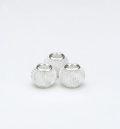34617 Net Beads 12mm 3pcs / 12mm (12340-4001).