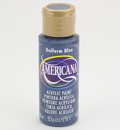 34809 Deco Art Americana Acrylics - Uniform Blue (DA086).