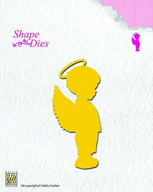 34980 Nellies Choice Shape Die - Angel Boy (SD073).