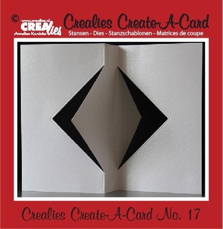 35828 Crealies Create A Card no. 17 stans voor kaart CCAC17.
