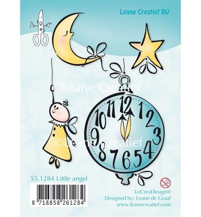 36134 Leane Creatief  Doodle Stamp Little Angel.