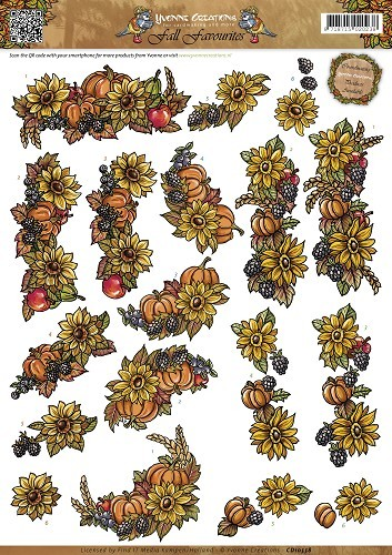 36206 (M2) Yvonne Creations - Fall Favourites - Seasonal Fruit (CD10558).