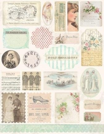 36892 Melissa Frances Cardstock Stickers Dearly Beloved.