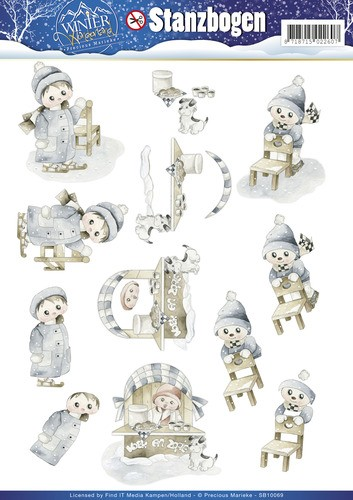 36900 Precious Marieke - Winter Wonderland Stansvel (SB10069).