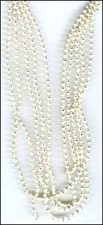 37096 Jewelry Chain 1,5 mm (1 mtr) White (12295-9503).