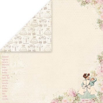 37119 Craft & You New Baby Born - 6- Double Sided Paper 30,5x30,5 cm.