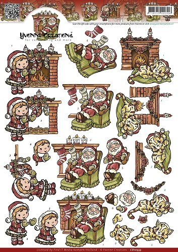 37188 (982) Yvonne Creations - Warm Christmas (CD10555).