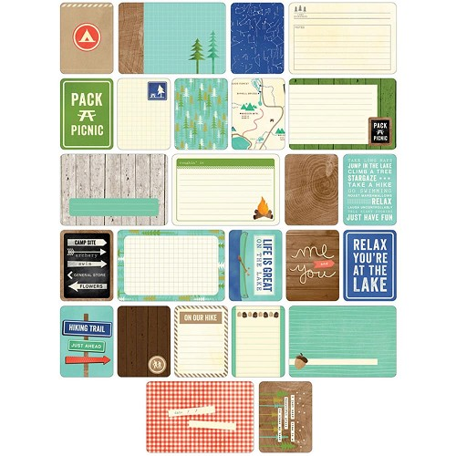 37343 Project Life Themed Cards 60/Pkg Great Outdoors.