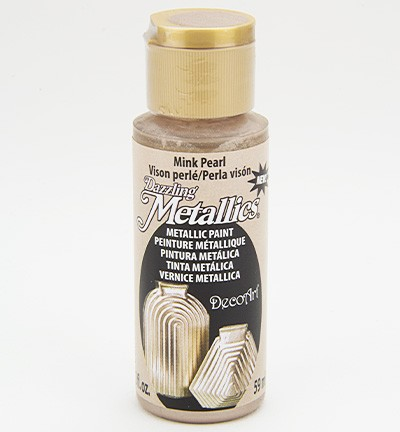 37757 Deco Art Dazzling Metallics Finish 59 ML Mink Pearl (DA307).