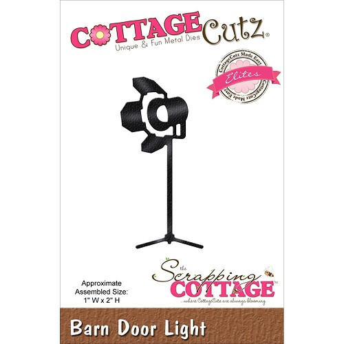 37780 Cottagecutz Elites Die Barn Door Light.