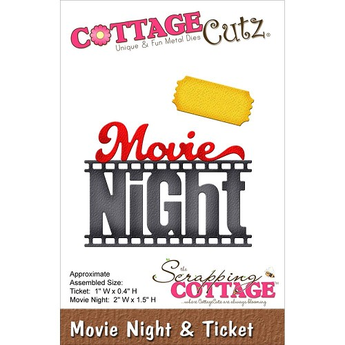 37784 Cottagecutz Elites Die Movie Night & Ticket.