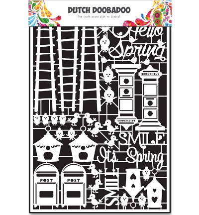 37994 Dutch Doobadoo Paper Art Spring A5.