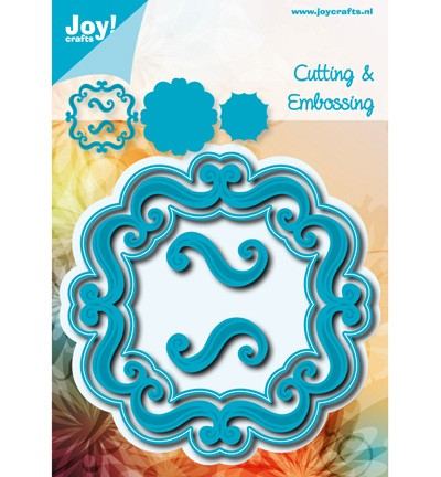 38124 Joy Crafts Cutting & Embossing Vierkant Accolades (6002/0535).