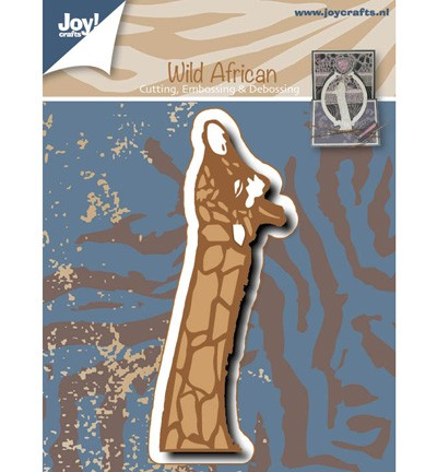 38130 Joy Crafts Cutting, Embossing & Debossing Giraffe (6002/0530).