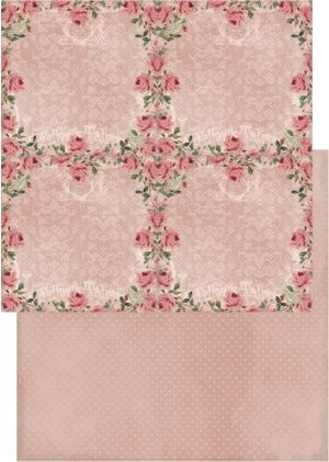 38161 Reprint 30,5x30,5 cm Vintage Rose Collection Sweet Roses.