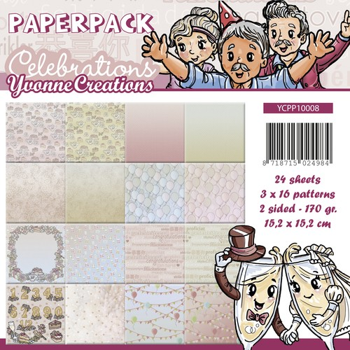 38202 Paperpack - Yvonne Creations - Celebrations.