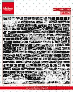 38268 Clear stamp Background Bricks Wall (CS0956).