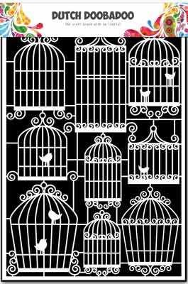 38330 DDBD Dutch Paper Art A5 Birdcages.