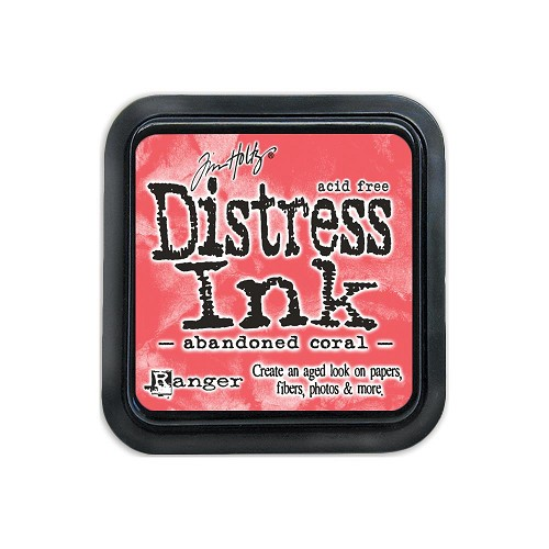 38420 Distress Mini Ink Pad Abandoned Coral.